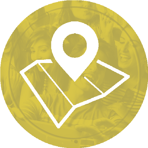 An icon for location services